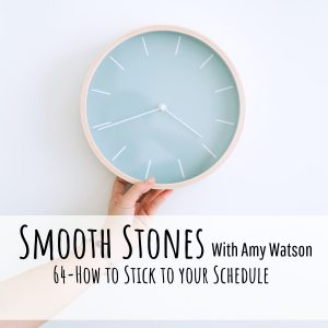 Read more about the article Episode 64-How to Stick to your Schedule